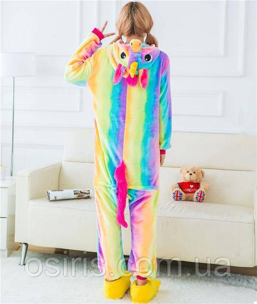 Пижама Кигуруми Единорог Радужный L на рост 160 - 170 см - Интернет-магазин  ОСИРИС b0e88dfdad73c