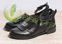 Туфли кожаные женские Salina 0515/38 ч.к 39,40 размеры, фото 1