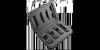 Набор насадок к форсункам в дизель, набор 4 шт., NEO  11-206