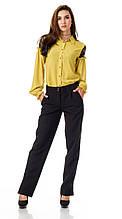 Женские брюки с разрезами по бокам. БР027
