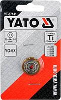 Ролик для плиткореза YATO 22х10 мм YT-37141