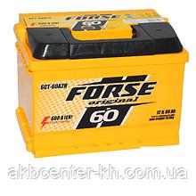 Автомобильные аккумуляторы FORSE 6CT-60A2H 600A L (обсл)