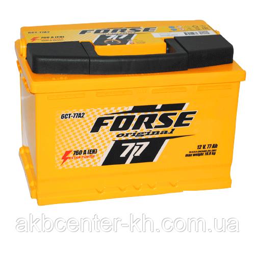 Автомобильные аккумуляторы  FORSE 6CT-77A2 760A R
