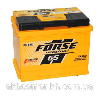 Автомобильные аккумуляторы  FORSE 6CT-65A2 640A L