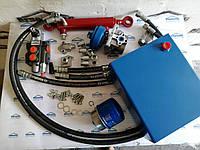 Комплект гидравлики для мотоблока с 1-секционным распределителем, 10л баком с фильтром