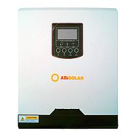 Автономный инвертор ABi-Solar SLP 5048 MPPT с пылезащитой (5 кВА/4 кВт , 1 фаза / 2,4 кВт DC, 48 В)