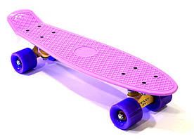Пенни борд Penny original Bavar Sport, 22 дюйма, фиолетовый