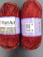 Yarnart Melody- 888 красный