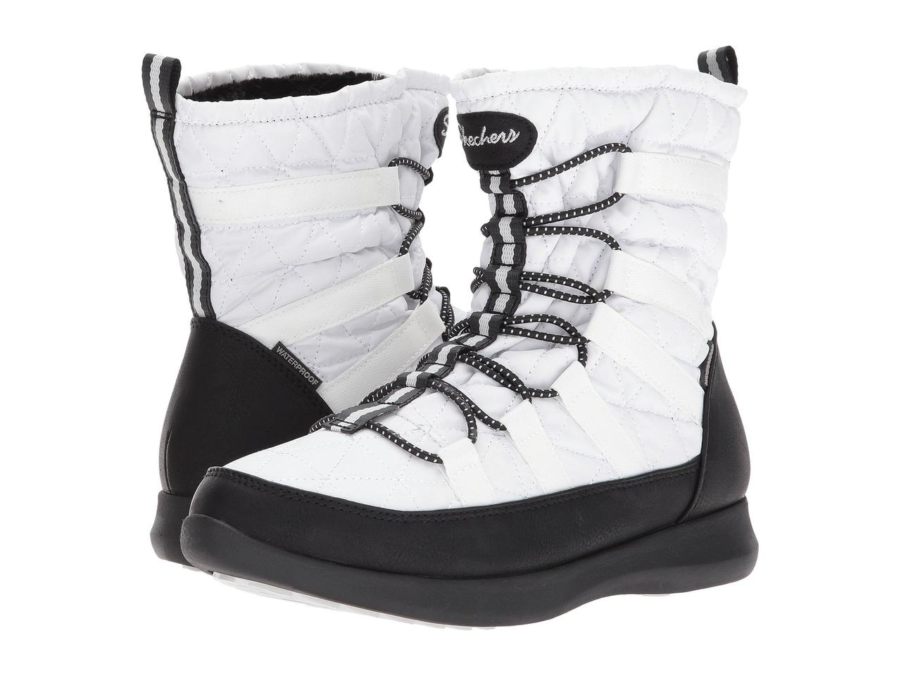 Сапоги SKECHERS Boulder - East Stone White Black - Оригинал — в ... 8e90dd24417