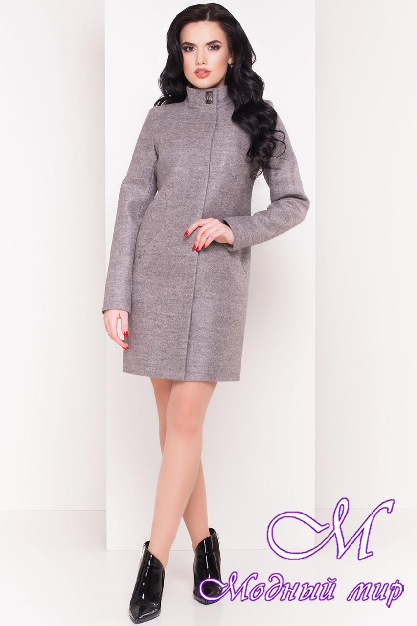Кашемировое женское пальто весна-осень (р. S, M, L) арт. Сплит 4374 - 21833