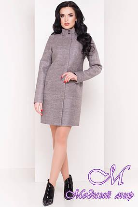 Кашемировое женское пальто весна-осень (р. S, M, L) арт. Сплит 4374 - 21833, фото 2