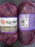 Yarnart Melody- 883 роза