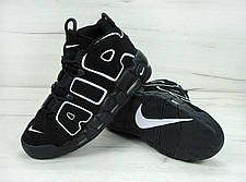 Мужские кроссовки Nike Air More Uptempo Varsity Black/White, фото 2