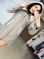 Демисезонное пальто на молнии Карина, фото 1