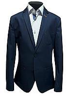 Пиджак детский темно-синий №43/1L - К 300/19-4024, фото 1