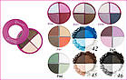 Тени для век Flormar Pretty Compact Quartet Eyeshadow, фото 2