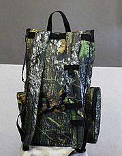 Рюкзак для металлоискатель (металоискателя, металошукача) и лопаты (2018 лес), фото 2