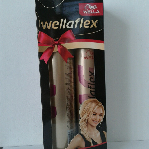 Набор лак+мусс для волос Wellaflex (Велла супер сильная фиксация №5 )