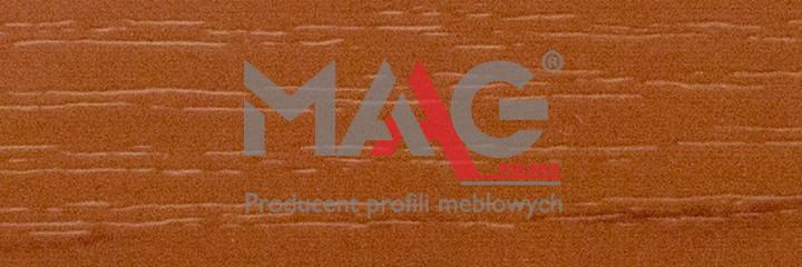 Кромка ПВХ Груша Кальвадос светлая D2/7 MAAG 2х42 мм.