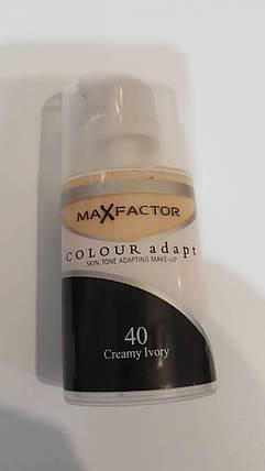 Тональный крем MaxFctor colour adapt тон 40 creamy ivory, фото 2