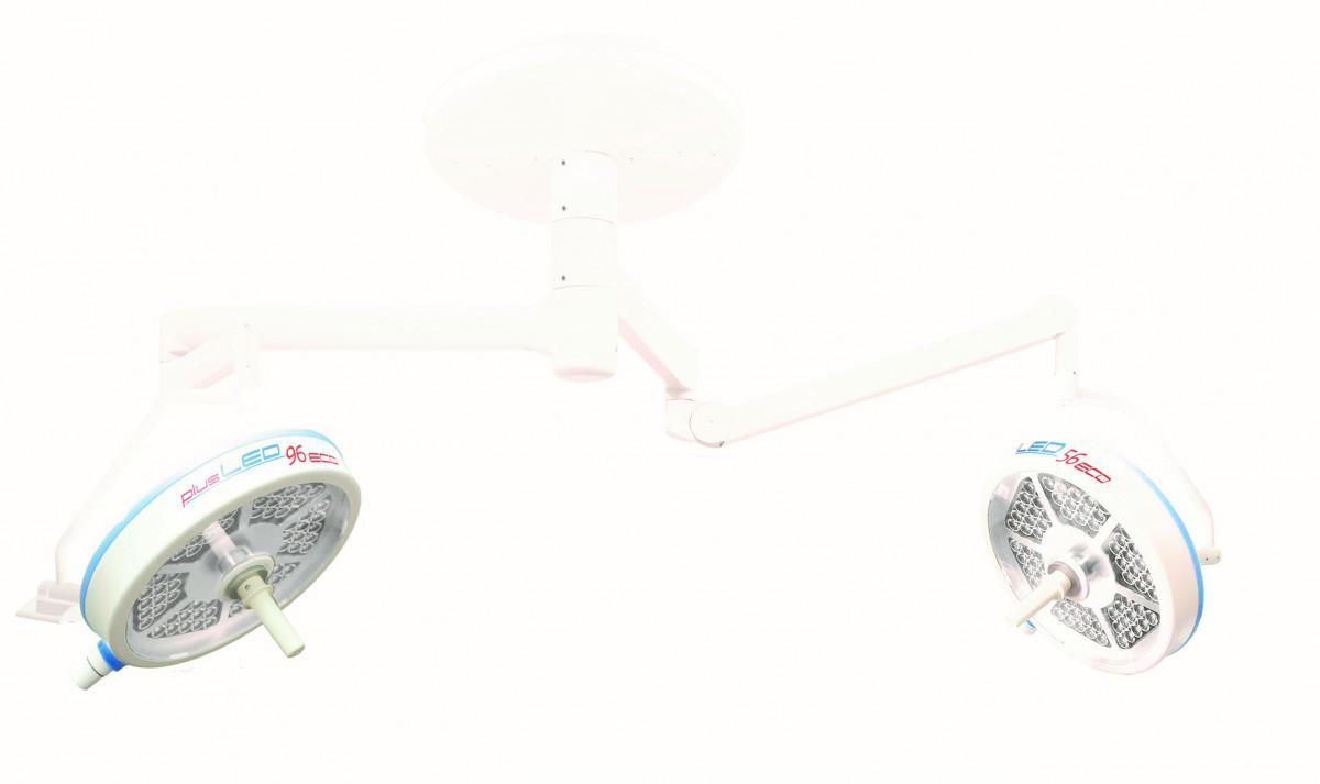 Светильник операционный plusLED 96/96 ECO светодиодный потолочный двухкупольный