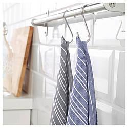 ✅ IKEA TIMVISARE (103.717.88) Полотенце кухонное, темно-синий, черный