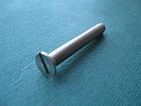 DIN 963 (ГОСТ 17475-80; ISO 2009) : нержавеющий винт с потайной головкой и прямым шлицем, фото 1