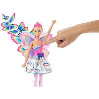 "Кукла Barbie ""Фея Летающие Крылья"" / Barbie Dreamtopia Flying Wings Fairy"
