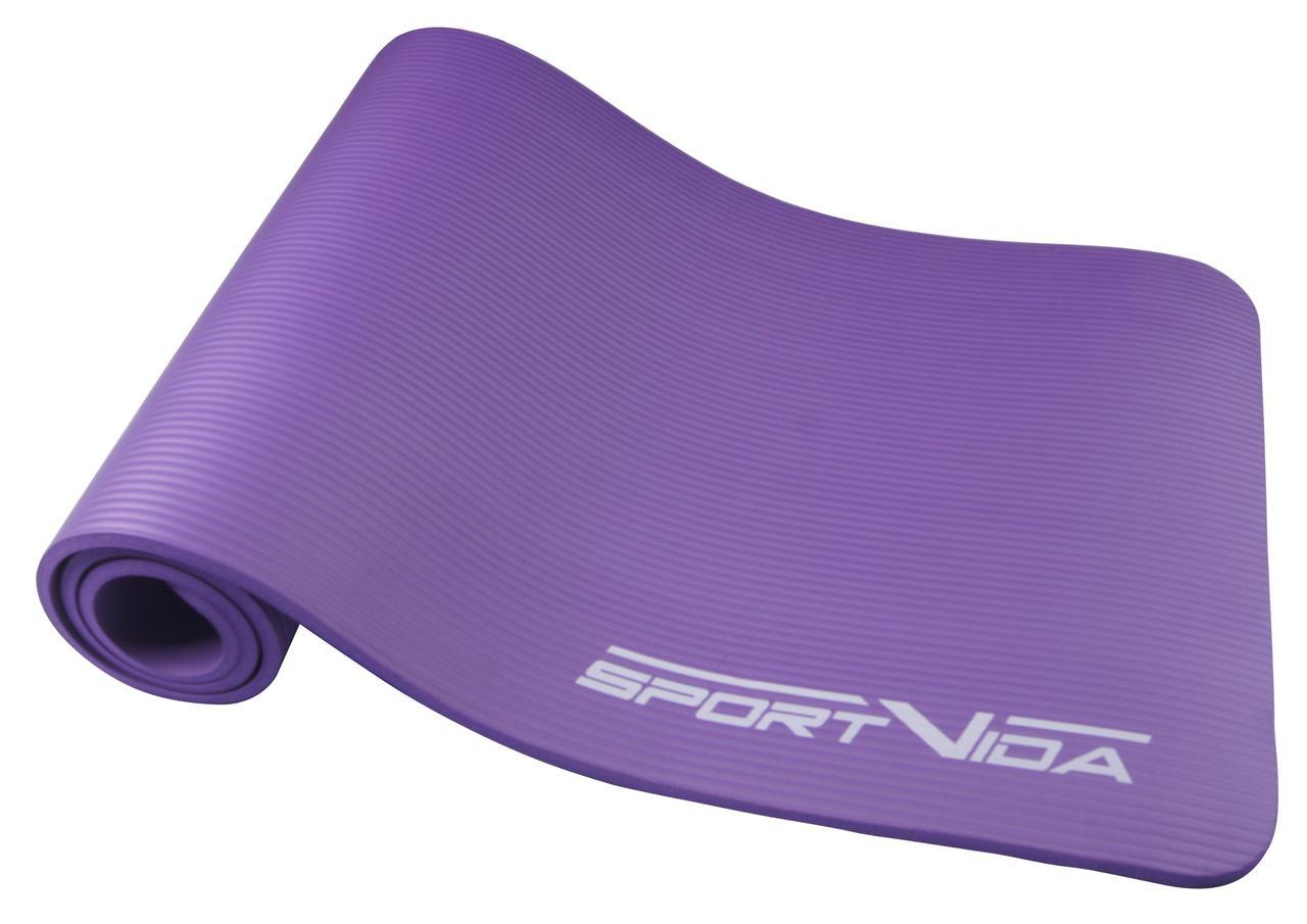 Коврик для тренировок SportVida NBR 1 см Violet