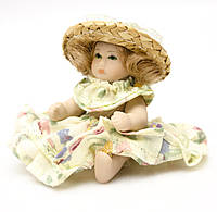 Коллекционная кукла, Миниатюра, Англия, фарфор, фото 1