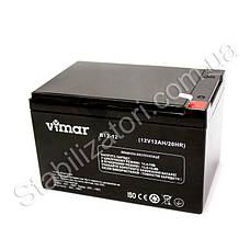 VIMAR B12-12 - 12В - 12 А/ч  - мультигелевый аккумулятор для ИБП, УПС, UPS, ДБЖ, бесперебойника, фото 3