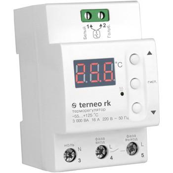 Термостат для котла з цифровим датчиком terneo rk 32А