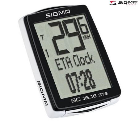 Велокомпьютер Sigma BC 16.16 STS беспроводной (LIS515)