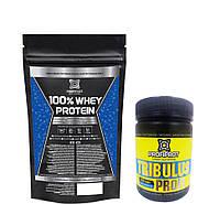 100% Whey protein PROFIPROT + Tribulus Profi PROFIPROT 100 caps*650 mg