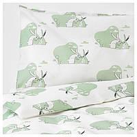 IKEA BUSSIG (703.654.40) Набор детских постельных принадлежностей