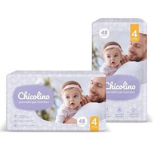 Подгузники Chicolino pannolini per bambini № 4 7-14 кг. (48 шт.)