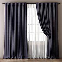 Готовый комплект из портьерной ткани - Моно (ширина 3 метра)