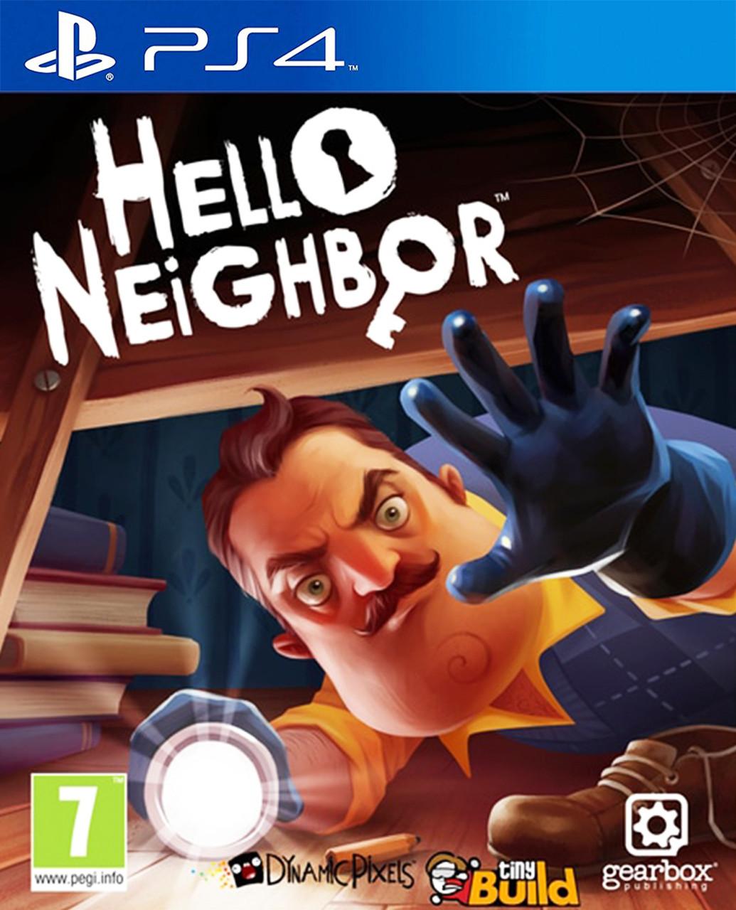 Видеоигра Hello Neighbor PS4