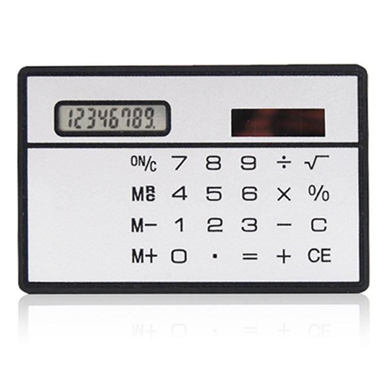 Калькулятор - визитка на солнечной батарее