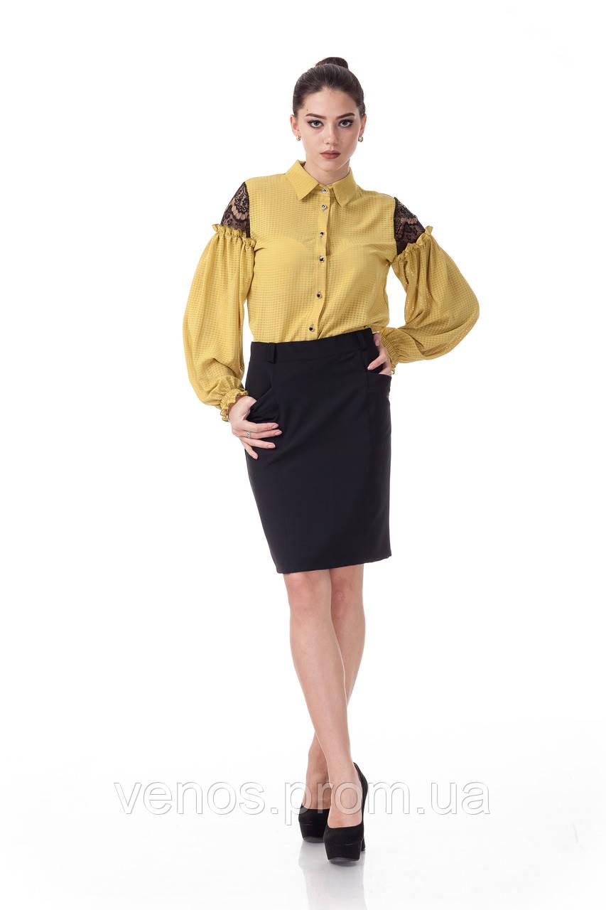 Женская классическая юбка . Ю022