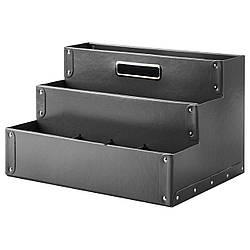 ✅ IKEA FJALLA (503.744.45) Подставка д/канцелярских принадлежн, темно-серый