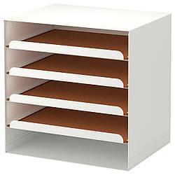 ✅ IKEA KVISSLE (701.980.31) Лоток для корреспонденции, белый