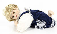 Фарфоровая лежачая кукла , 34 см, фарфор, Германия, фото 1