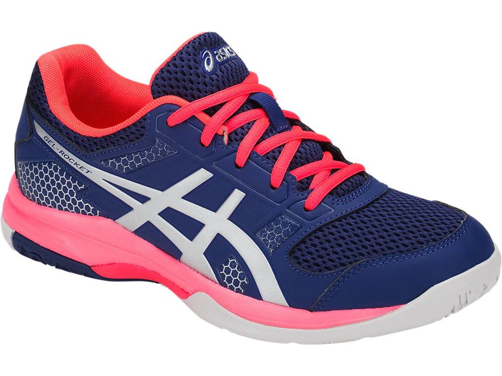 3804b3e3 Кроссовки для волейбола женские ASICS GEL ROCKET 8 B756Y-400 -  Интернет-магазин