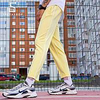 Спортивные штаны с полосой мужские ТУР Cage желтые