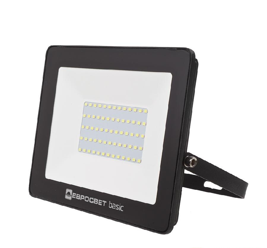 Светодиодный LED прожектор 150 Вт 6400К 13 500 Lm Евросвет, 2 года гарантия