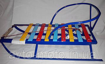 Сани детские (санки) Синий