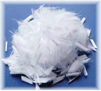 Фиброволокно армирующее 12 мм полипропиленовое (уп. 0,9 кг)