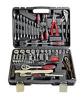 Набор инструмента с головками и насадками, Cr-V, 72шт | 52-152