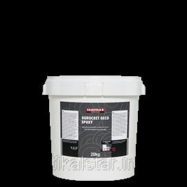 Специальное предложение! Декоративное цементно-эпоксидное покрытие для стен и полов Дюрокрет Деко-ЭПОКСИ (упаковка  20  килограмм)